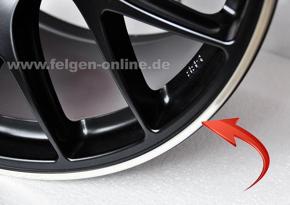 """ERSATZRING RIM RINGZ Felgenschutzring 18/"""" Zoll silber 1 Stück"""